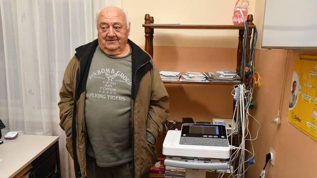 Čaglin: Umirovljenik, povratnik iz Švicarske, kupio je novi EKG uređaj Domu zdravlja