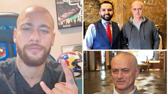 Mourinho i Neymar na nulerici: 'Ma, zaspao sam kod frizera...'