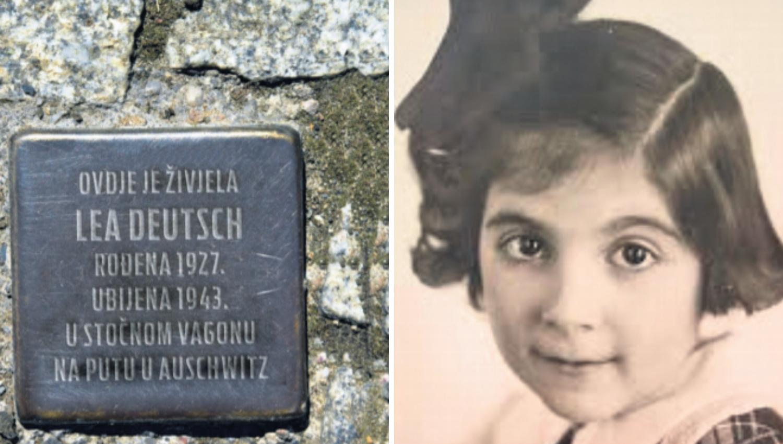 Sjećanje na žrtve nacizma: U Zagrebu prvi 'kamen spoticanja'