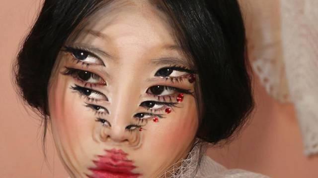 Makeup optičke iluzije