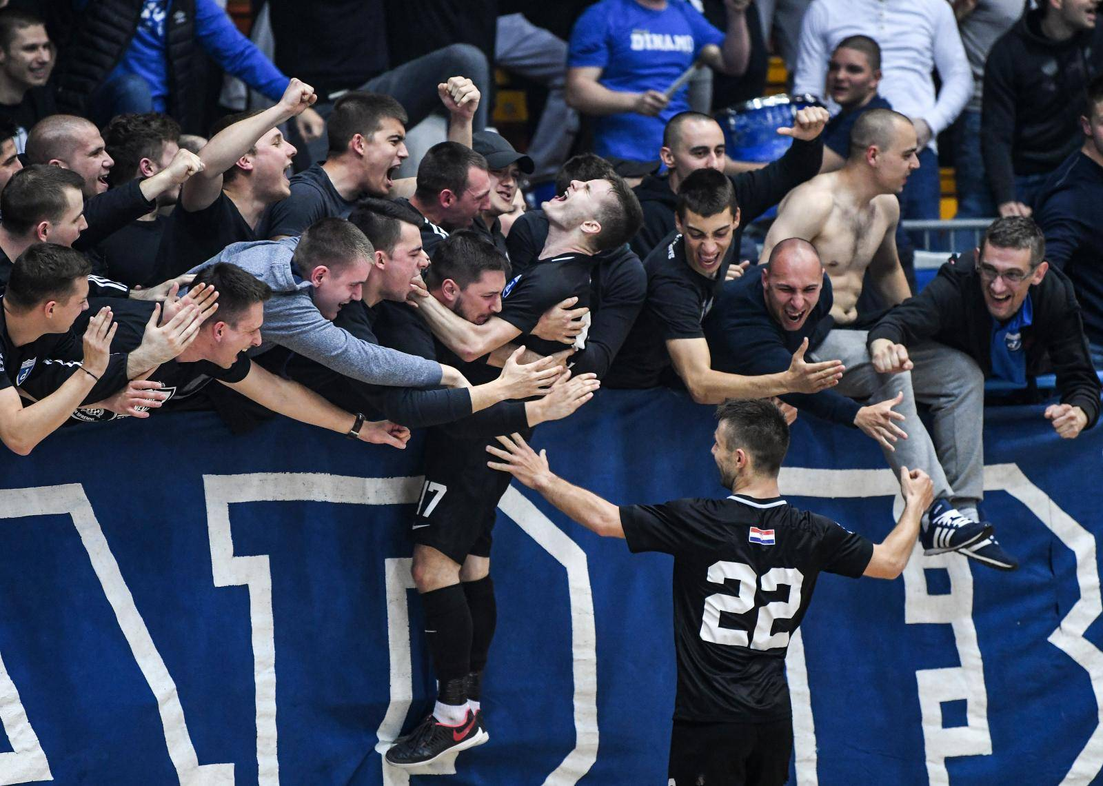 Zagreb: Futsal Dinamo pobijedio Uspinjaču i plasirao se u polufinale prvenstva Hrvatske