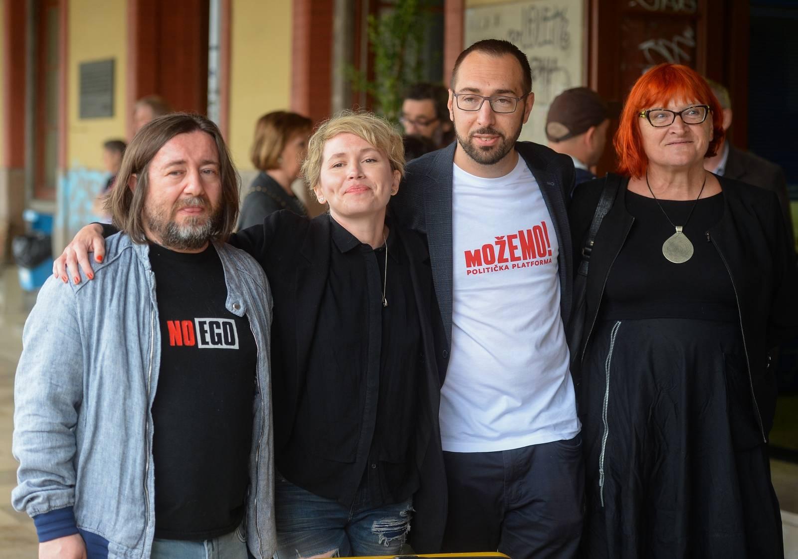 "Zagreb: Konferencija za medije koalicije pod nazivom ""Pun nam je kufer"""