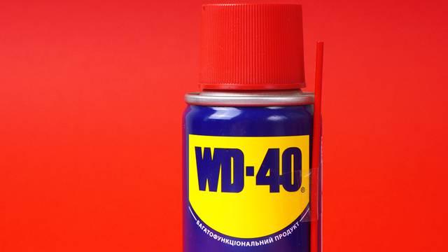 Super WD-40 sprej: Uklanja mrlje sa zida, skida naljepnice