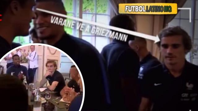 Griezmann otpilio Varanea: 'E, neću ti čestitati na Ligi prvaka'