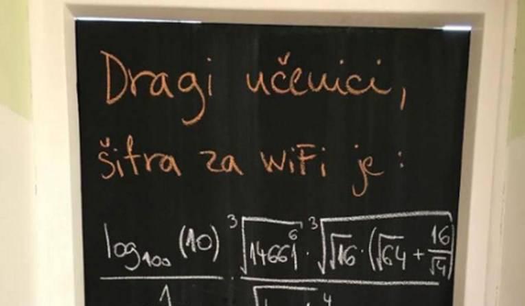 Je li tvoje ime Wi-Fi? Pitam jer osjećam neku 'konekciju'