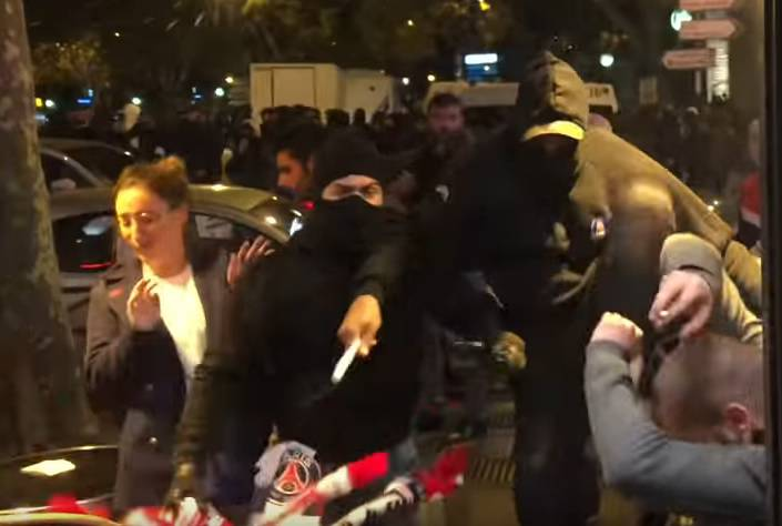 Osvanuo novi video napada pariških huligana na Delije