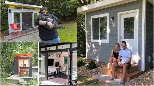 Novi trend: Montažne kućice u dvorištu koje služe kao uredi