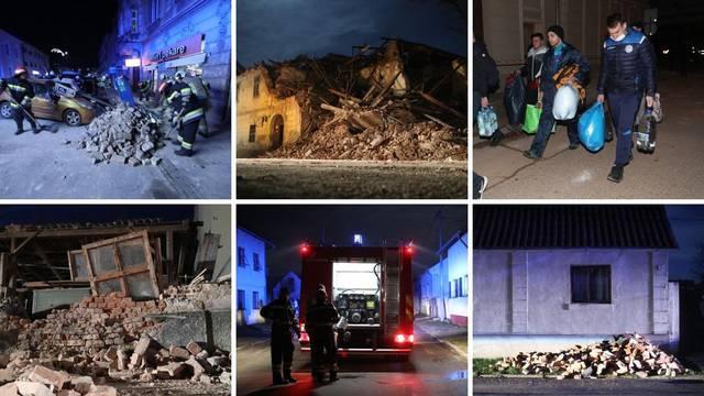 Uživo iz Petrinje: Poginulo je 7 ljudi, grad je u ruševinama...