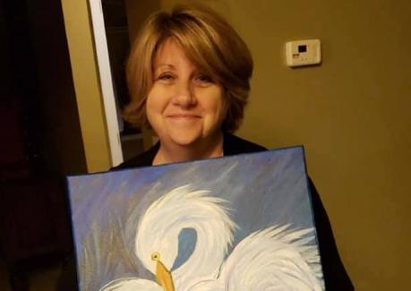 Mama je naslikala čaplju, onda je internet učinio nešto super