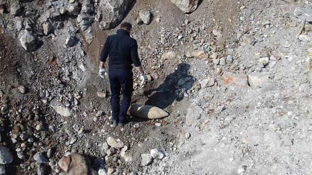 Na poligonu kod Slunja uništili bombu koju su našli u Šibeniku