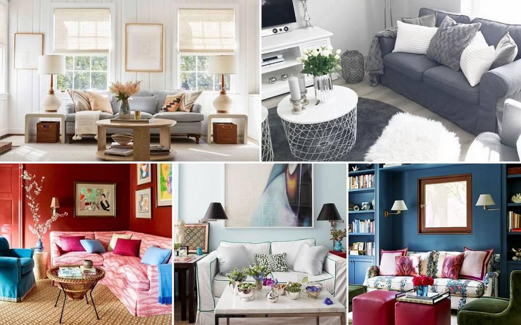 15 dizajnerskih ideja koje će vizualno povećati dnevnu sobu
