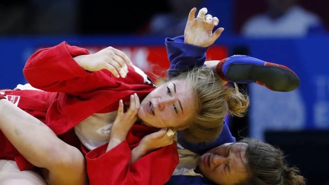 2019 European Games - Judo - Sambo - Women's -68kg