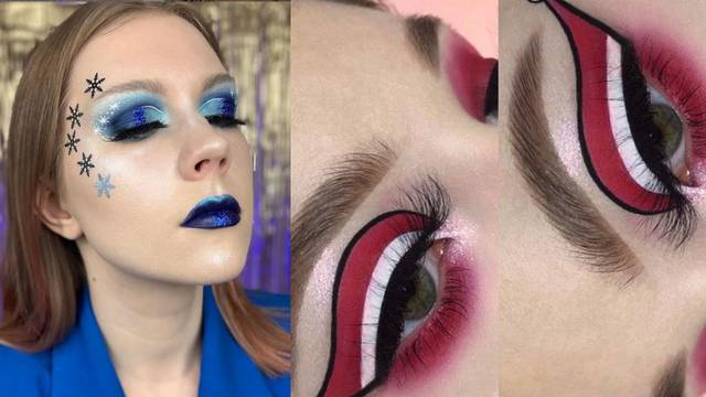 Make-up igra: Kreativne ideje inspirirane zimom i adventom