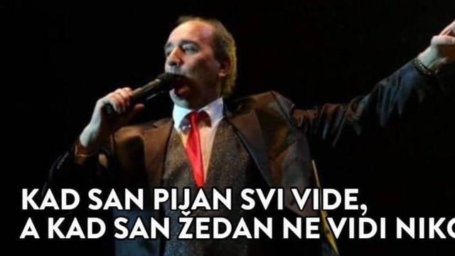 Prijatelji stari kesten, jetre s Dinare iliti 'Ja to tako pjevam'
