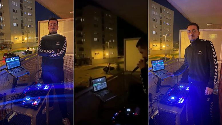 DJ s balkona puštao 'Poljubi zemlju': Cijeli kvart je pjevao