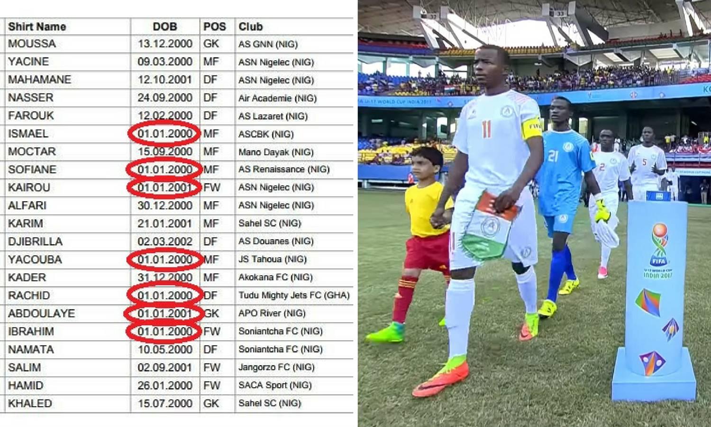 Samo slučajnost?! Sedmorica igrača Nigera rođeni 1. siječnja