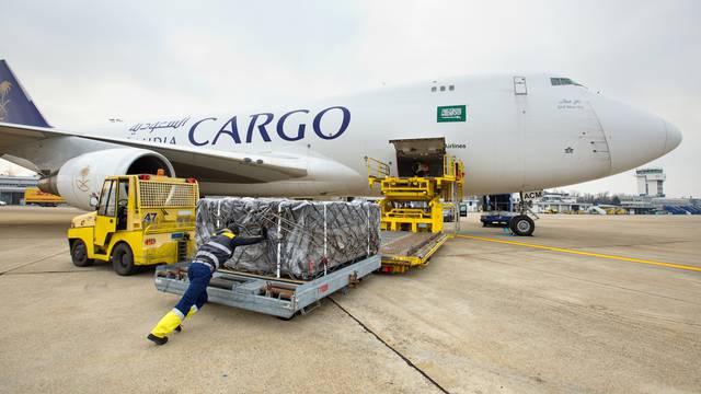 Najveća cargo operacija u Zračnoj luci Franjo Tuđman
