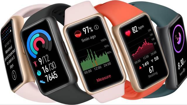 Novi Huawei Band 6 iznimno je lagan, cijeli dan prati vaš kisik