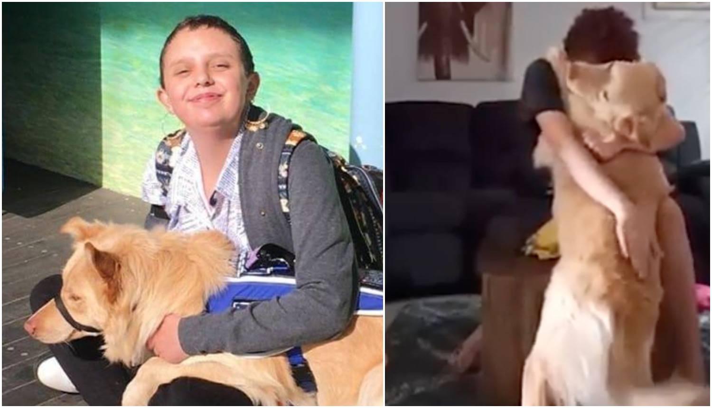 Pas Marley spasio vlasnicu s autizmom od opasnog napadaja