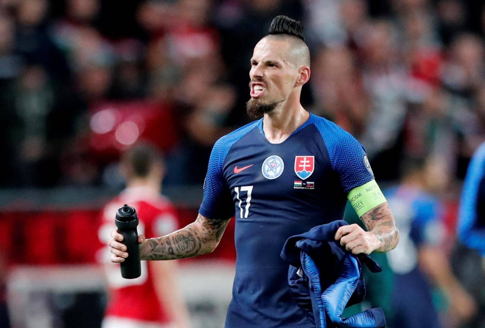 Euro 2020 Qualifier - Group E - Hungary v Slovakia