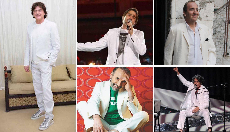Nosi im se bijela boja: Bregović i Čolić proslavili bijelo odijelo