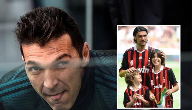 Buffon: Chiesa i sin pa Thuram i sin, Weah i sin, Maldini i sin!