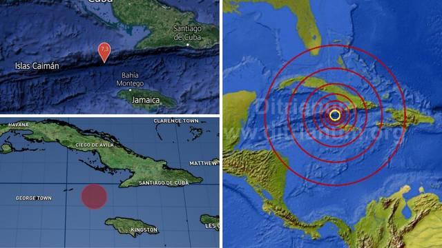 Tresli se Karibi: Snažan potres pogodio je Jamajku i Kubu