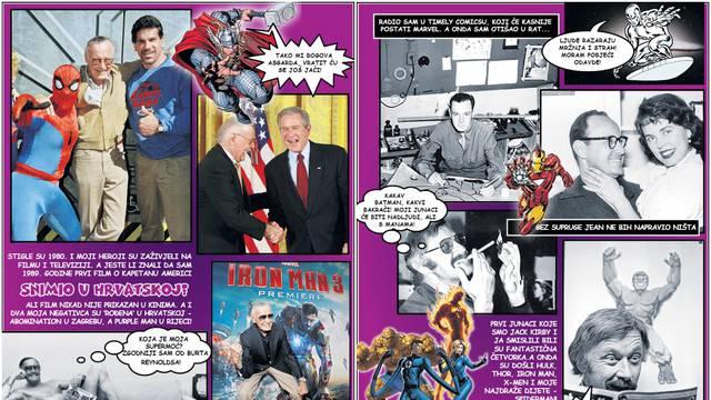 Karijera u slikama: Evo kako je živio stripovski genij Stan Lee