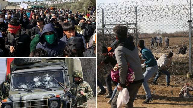 Kaos na grčko-turskoj granici: Utopilo se dijete, veliki neredi