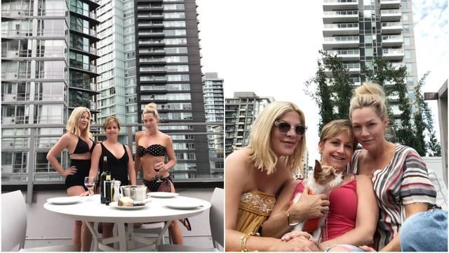 Prepoznajete ih? Beverly Hills dame odmarale na vrhu zgrade