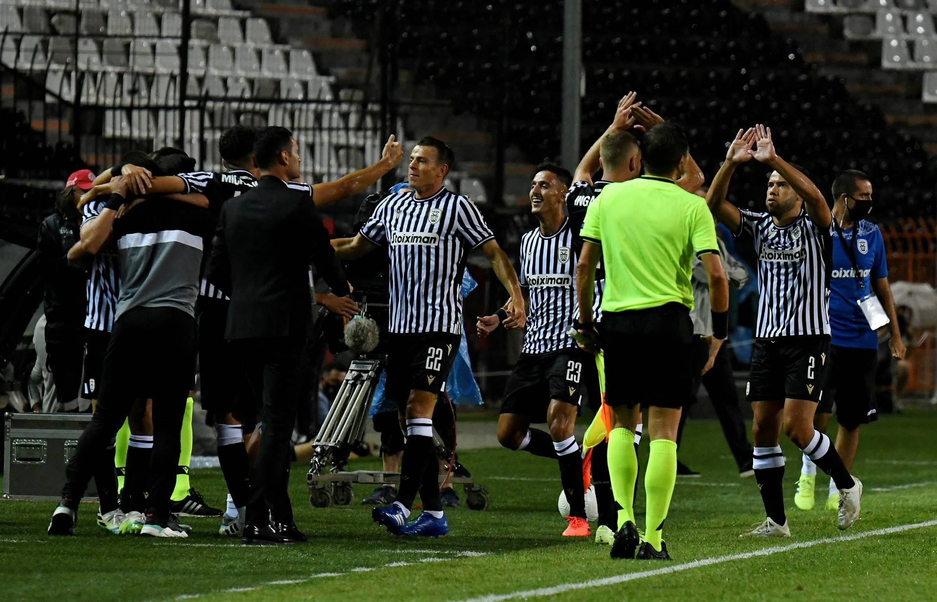 Champions League - Second Qualifying Round - PAOK v Besiktas