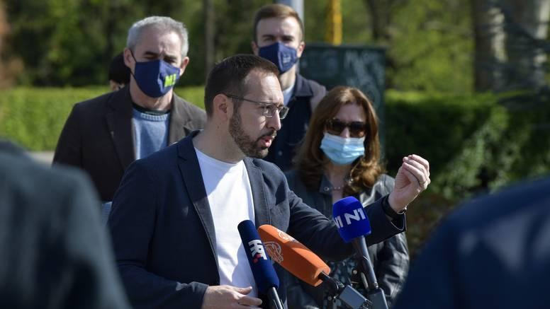 Tomašević u Maksimiru: Treba riješiti situaciju centra Svetice i urediti ga za građane i sportaše