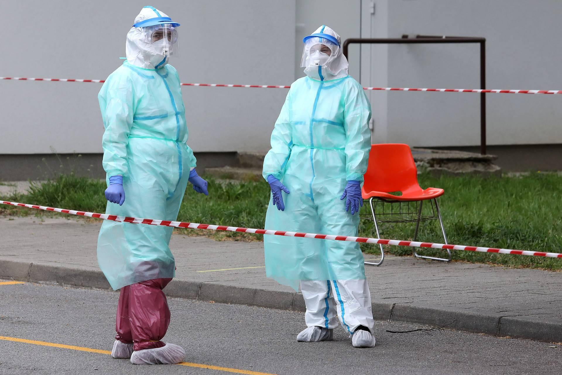 Zagreb: Izdvojena ambulanta za trijažu u Grižanskoj i dalje uzima uzorke