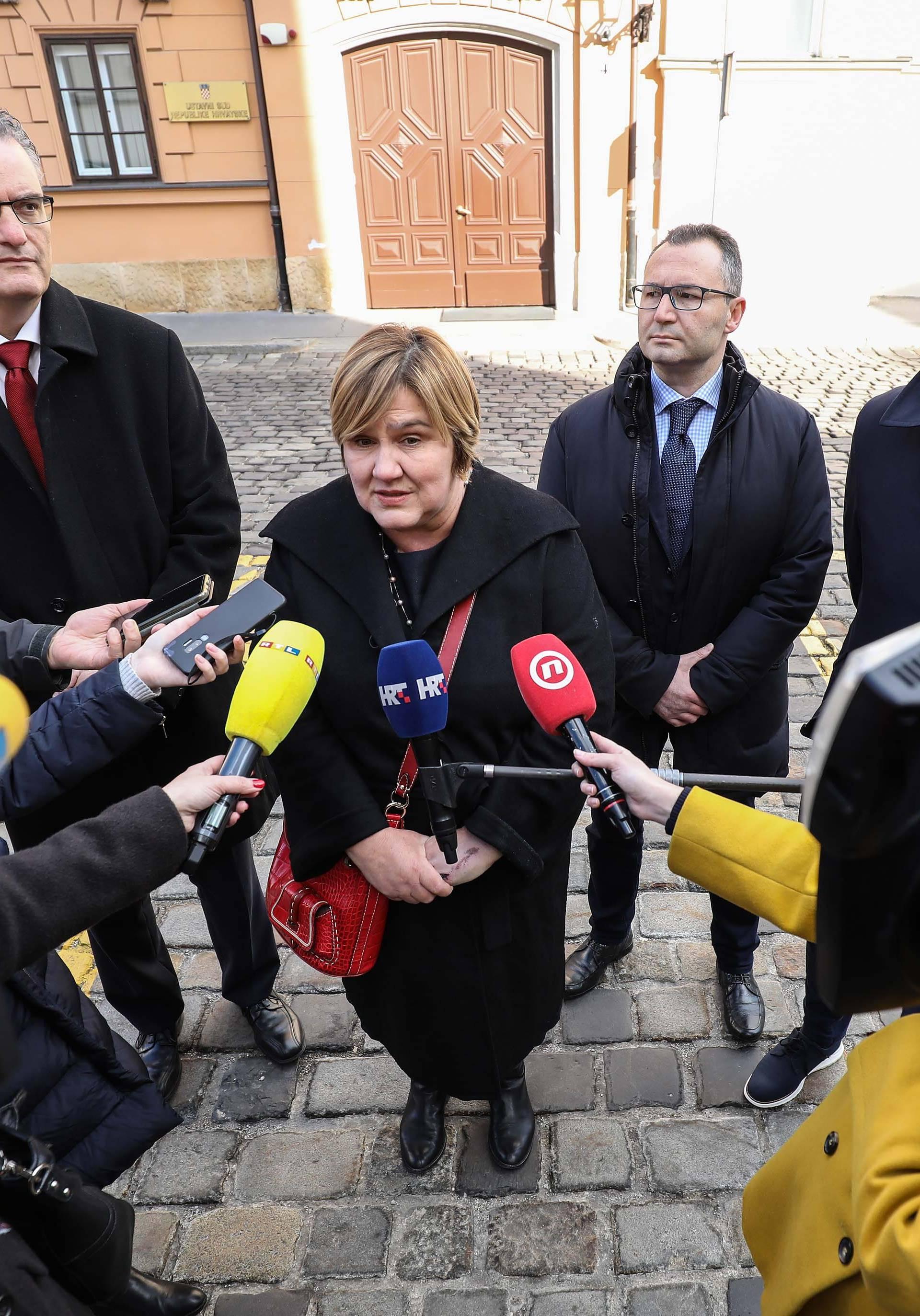 Markić najavila inicijativu zbog Ustavnog suda i udomljavanja
