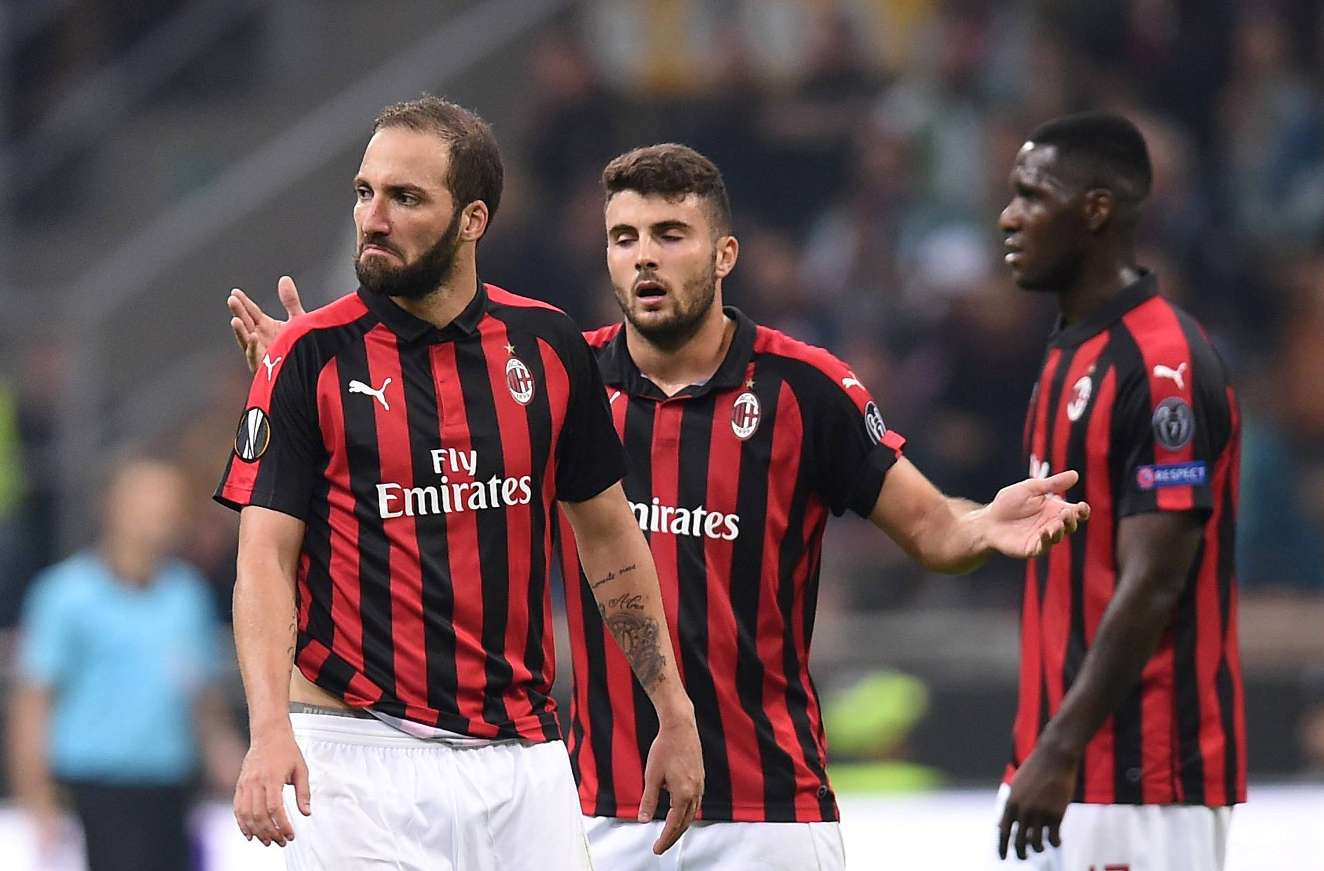 Europa League - Group Stage - Group F - AC Milan v Real Betis