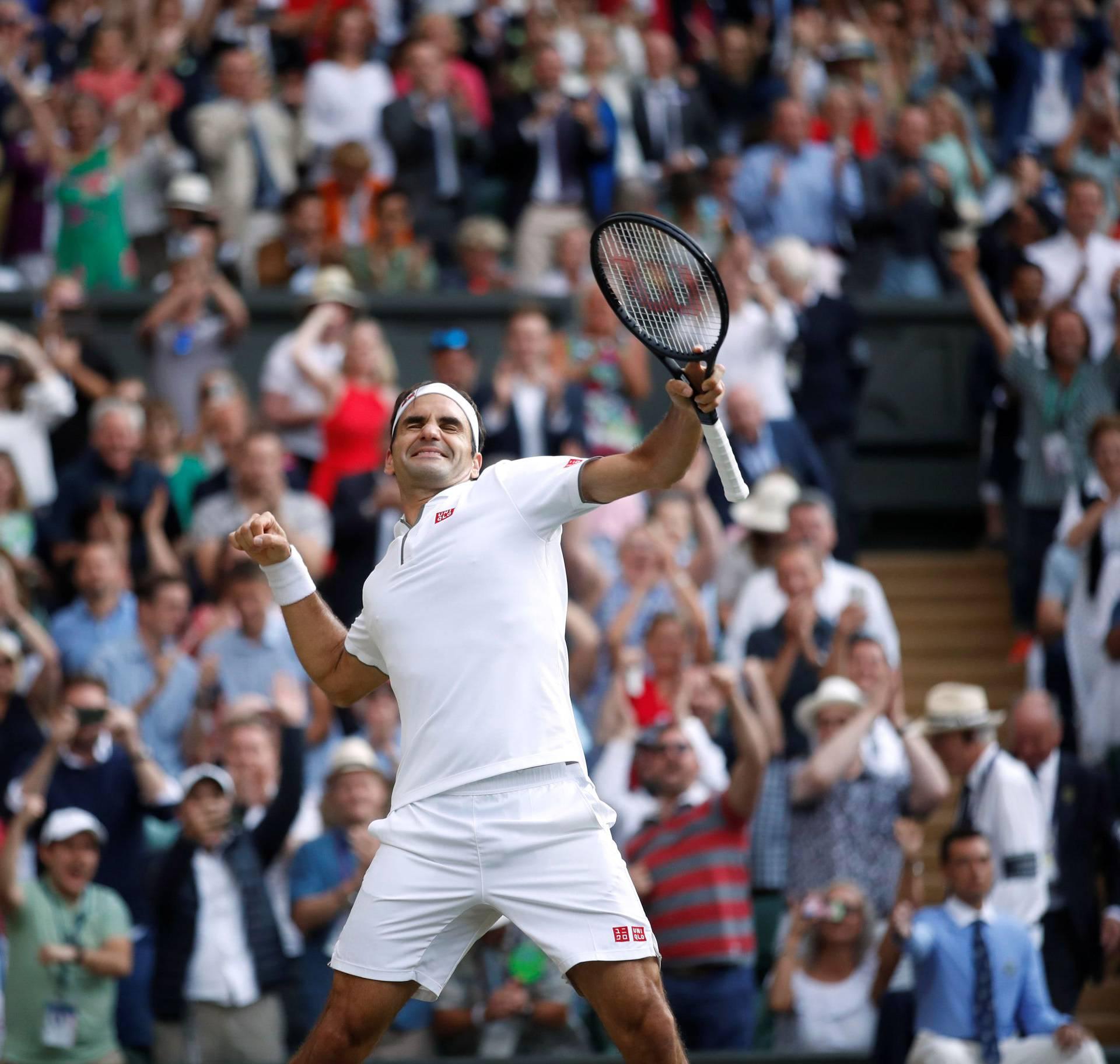 Rafa mu ne može ništa: Roger po 12. put u finalu Wimbledona