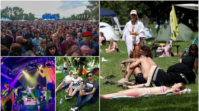Život u festivalskom kampu: Ma baš te briga gdje ćeš leći...