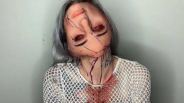 Vizažistica horora: Njena će vas šminka ozbiljno prestrašiti