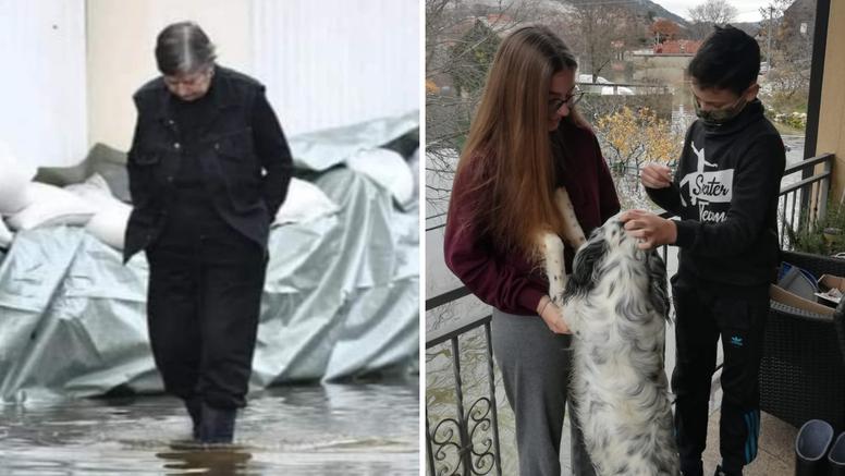 Prvo poplava, a sad i korona... Baka ne može do unuka: 'Odem samo do balkona da ih vidim'