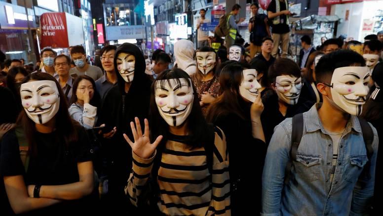 Prijetnje sigurnosti u  Hong Kongu  Kina neće tolerirati