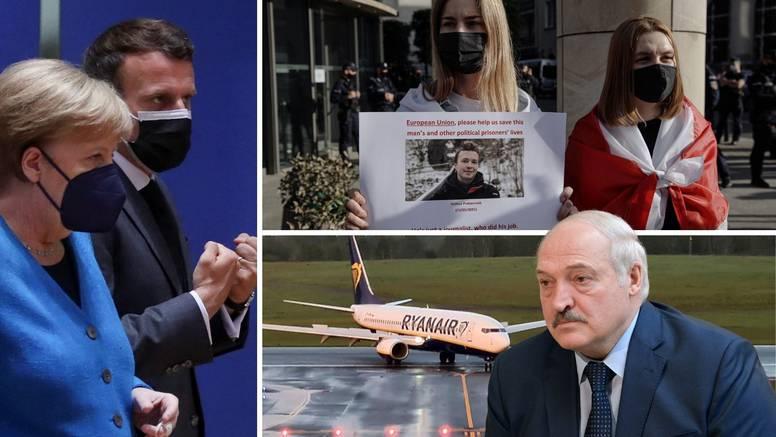 Skandal s avionom Ryanaira: EU uvodi nove sankcije i traže da Bjelorusi oslobode blogera