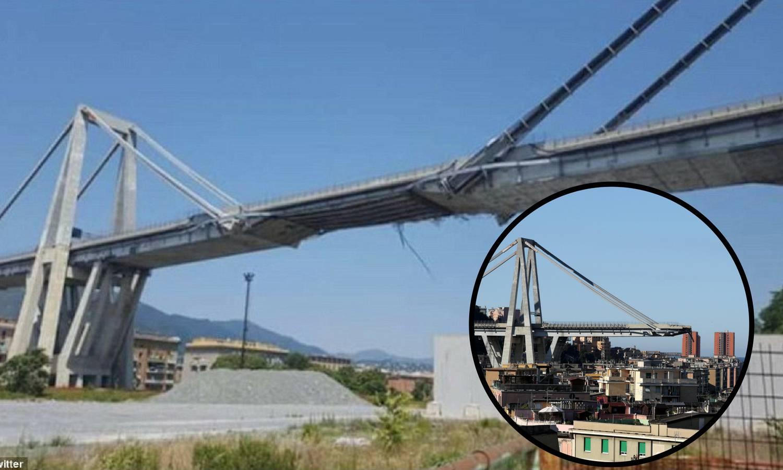 Fotka snimljena prije tragedije otkriva pravo stanje vijadukta