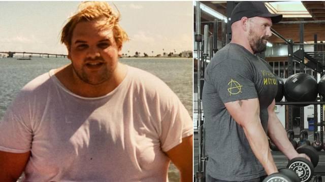 Glumac se prepolovio: Imao je 220 kila, a danas je sav mišićav