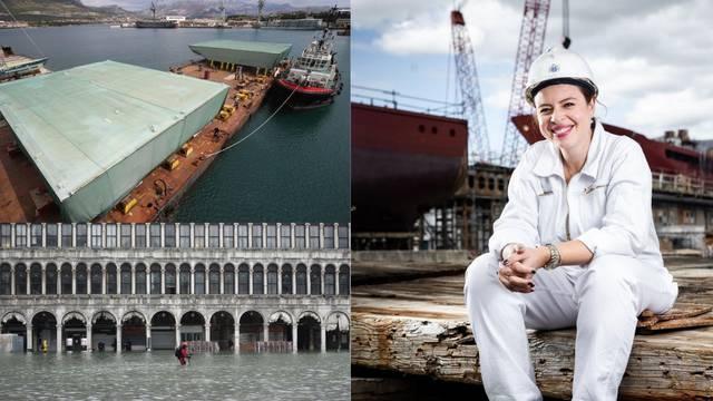 Splićanka Ivana napravila je slavna vrata koja Veneciju štite od poplava: Naš dio je OK, ali...