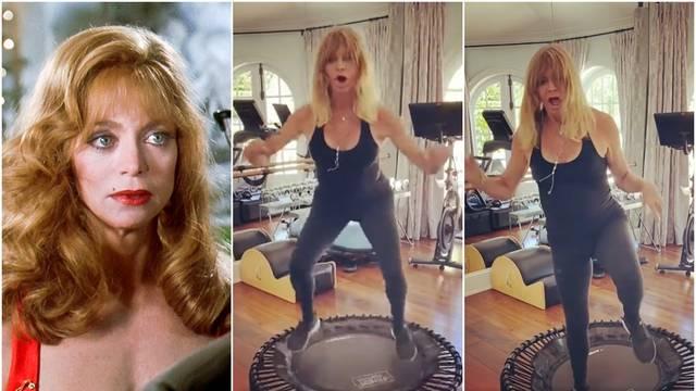 Postala hit: Oskarovka je u 75. godini skakala po trampolinu