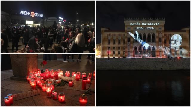 Evo kako se Zagreb, Sarajevo, Zadar, Pula i Šibenik opraštaju od legendarnog Balaševića...