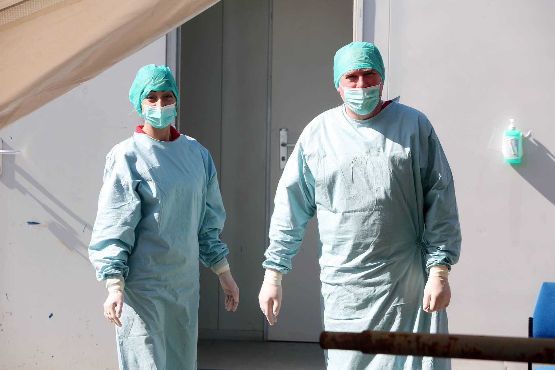 Karlovac: Pacijenti za testiranje na koronavirus u OB Karlovac prolaze proces trijaže