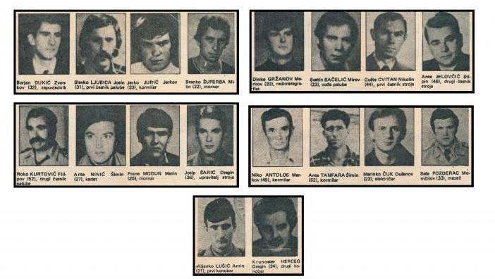 40 godina od velike havarije: Nestali su šibenski pomorci...