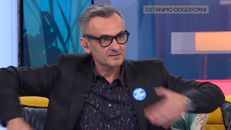 HRT se oglasio o Meštrovićevom gafu uživo: 'To je bila interna komunikacija s voditeljicom...'