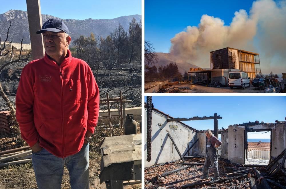 'Prvo je planuo krov kuće, a onda je u trenu sve izgorjelo'